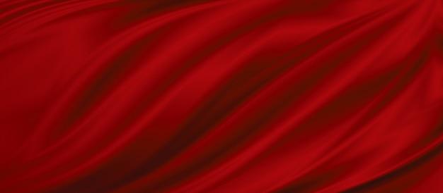 Illustrazione di sfondo trama tessuto rosso