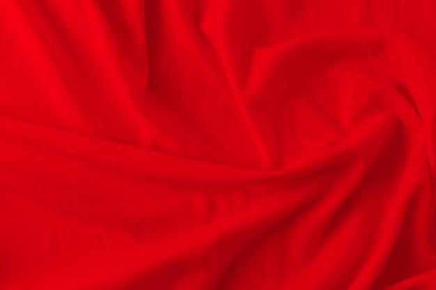 Fondo di struttura del tessuto rosso