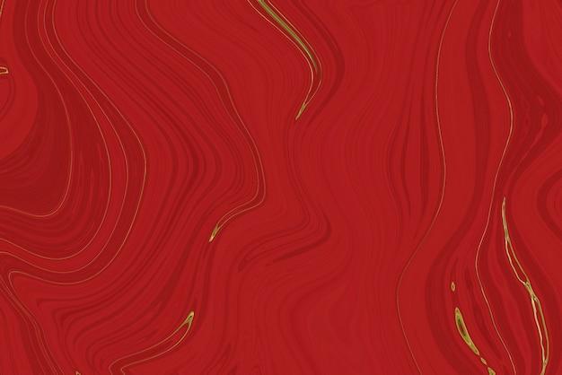 Fondo astratto di marmo rosso e oro