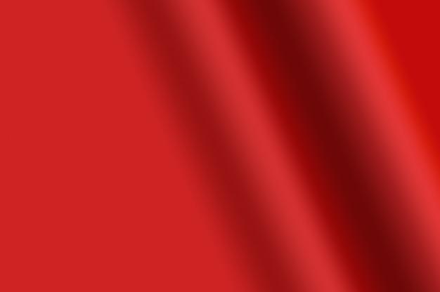 Trama sfumata di colore rosso sfumato increspato come sfondo decorativo astratto elementi di design