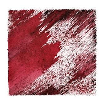 Sfondo astratto grunge rosso - spazio per il tuo testo - illustrazione raster