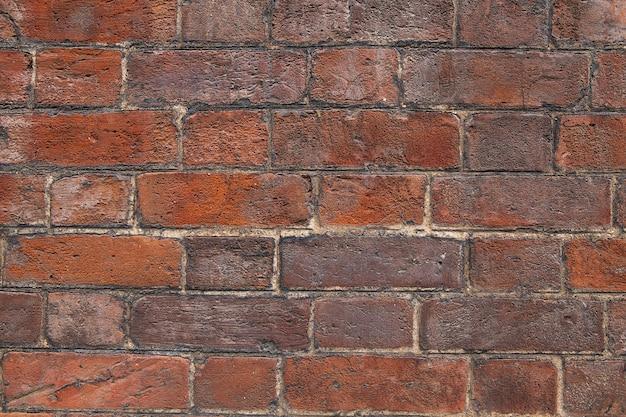 Priorità bassa rossa del muro di mattoni del grunge