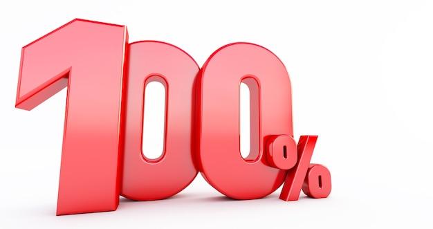 Rosso al cento per cento
