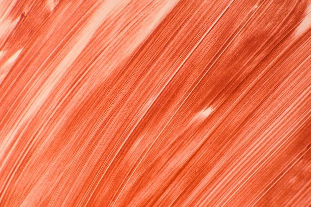 Macchie di rossetto rosso.