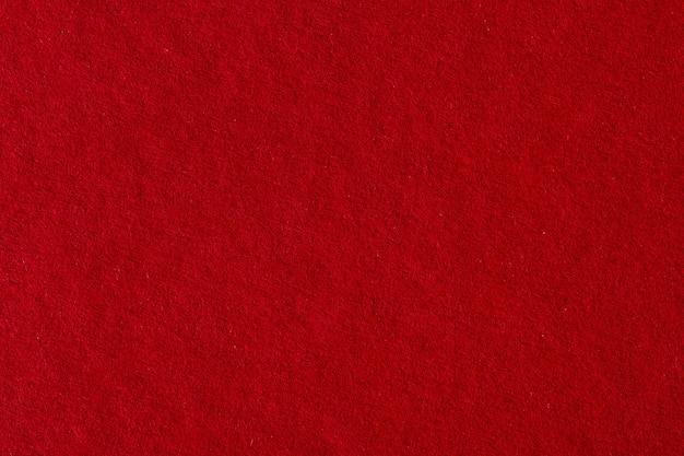 Trama di sfondo di carta rossa. foto macro
