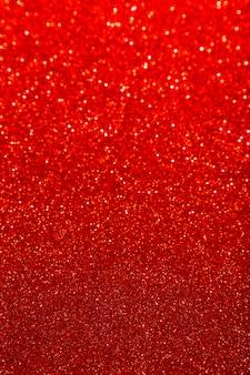 Glitter riflettente rosso