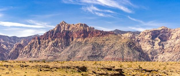 Canyon rosso della roccia a las vegas nevada usa