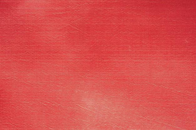 Trama del tessuto di seta rossa