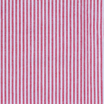 Trama tovaglia in tessuto a strisce rosse e bianche