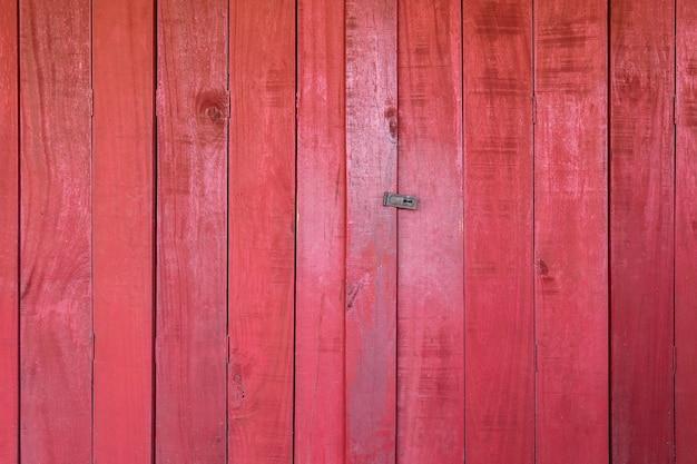 Sfondo di legno rosso. trama di legno rosso