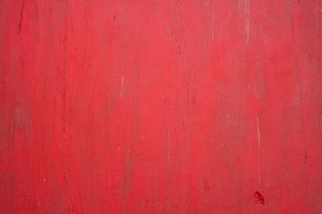 Superficie in legno rosso