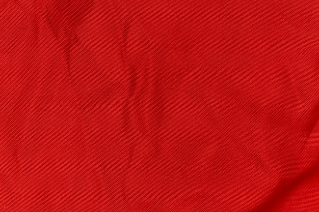 Trama di tessuto rugoso rosso