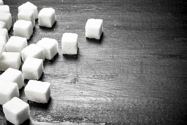Zollette di zucchero raffinate