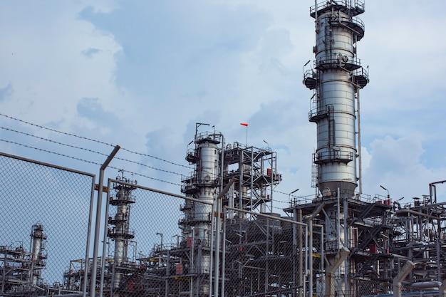 Attrezzature per impianti di raffineria per oleodotti e gasdotti