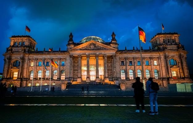 Edificio del reichstag a berlino