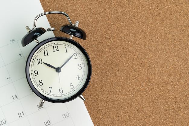 Promemoria per appuntamento di lavoro o scadenza per un progetto commerciale