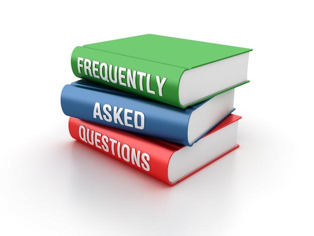 Illustrazione di rendering delle domande frequenti