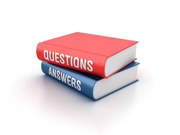 Illustrazione della rappresentazione dei libri di domande e risposte