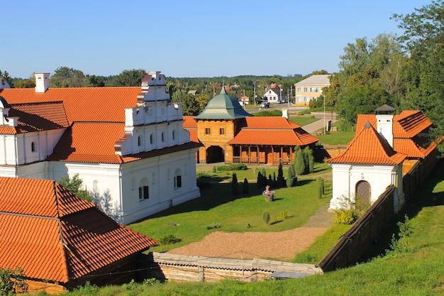 Residenza bohdan khmelnytsky a chigirin, ucraina. complesso storico e architettonico nazionale.