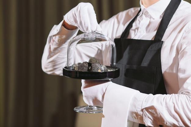 Delicatezza dello chef del ristorante.