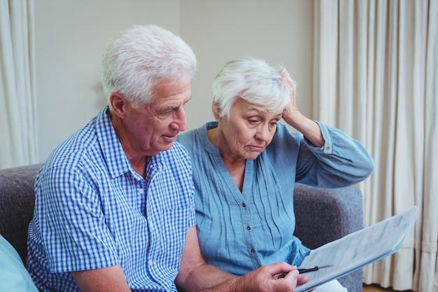 Fatture calcolarici per coppie di pensionati