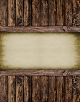 Retrò pagina di carta notebook.wood strutturato. superfici.