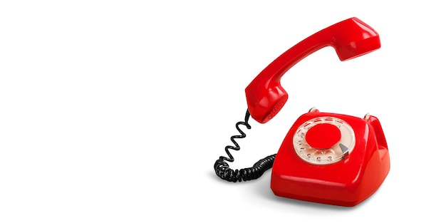 Telefono rosso retrò