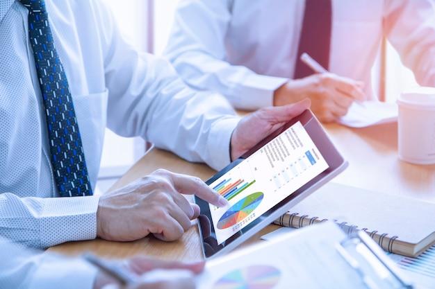 Revisione di un report finanziario nella restituzione dell'analisi degli investimenti
