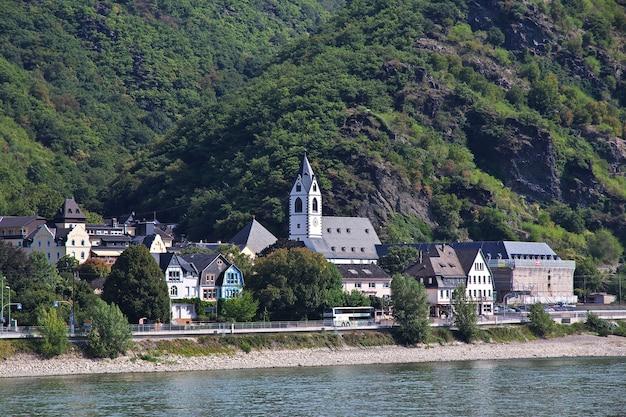 Valle del reno nella germania occidentale