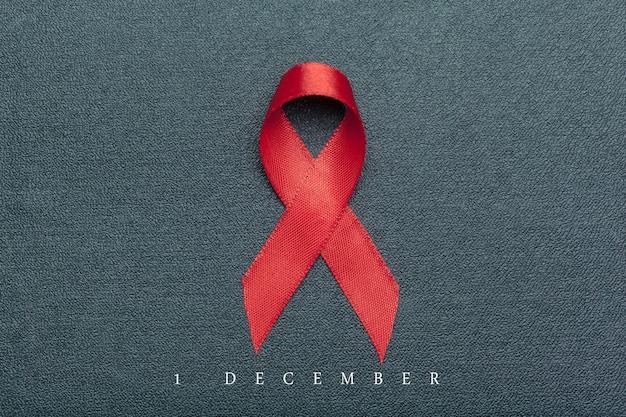 Nastro come simbolo della consapevolezza dell'aids