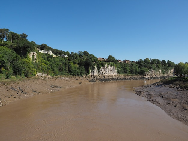 Fiume wye a chepstow