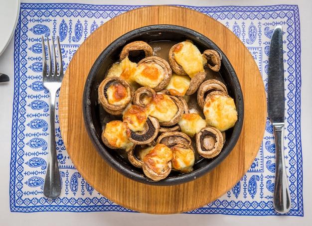 Mashrooms arrosto, cucina georgiana