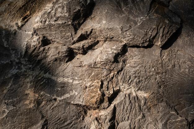 Texture di sfondo roccia, muro di pietra