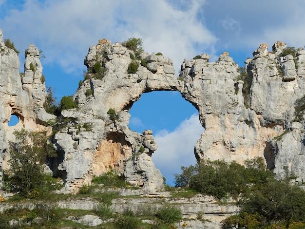 Formazione rocciosa a forma di continente africano