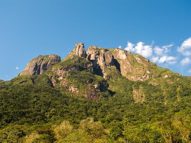 Montagne rocciose nel sud del brasile