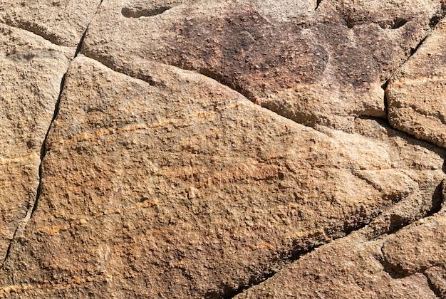 Texture di roccia in vista ravvicinata