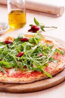 Pizza rucola di parma