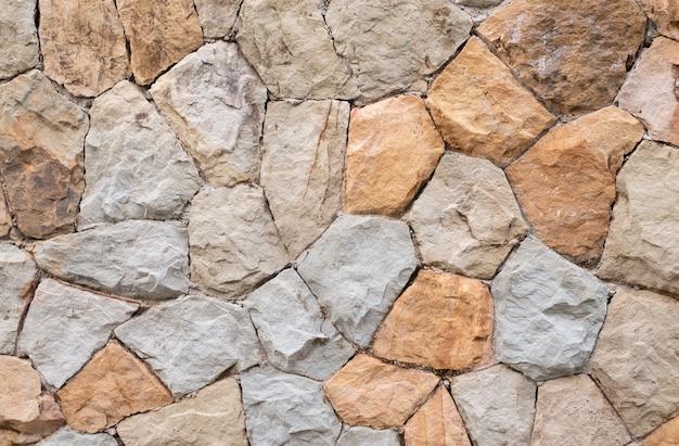Materiale naturale del fondo della superficie di struttura del blocco roccioso per il fondo astratto del contesto della carta da parati della decorazione di architettura