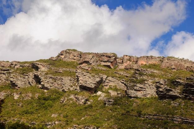 Scogliere rocciose nel parco nazionale chapada diamantina stato bahia brasile il 10 giugno 2007