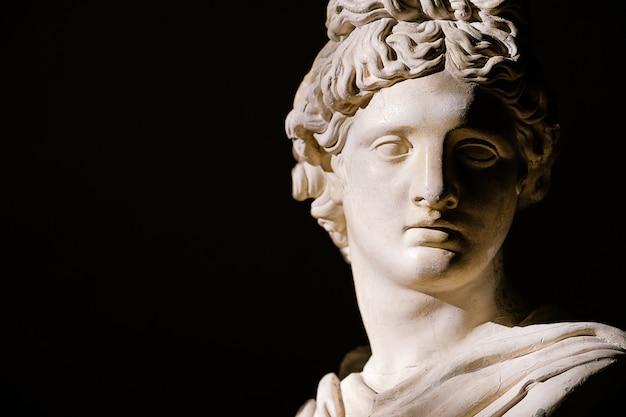 Scultura busto romano