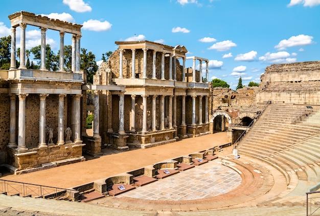 Il teatro romano di merida patrimonio mondiale dell'unesco in spagna