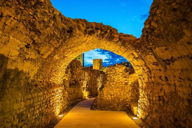 Mura romane di tarragona in catalogna, spagna