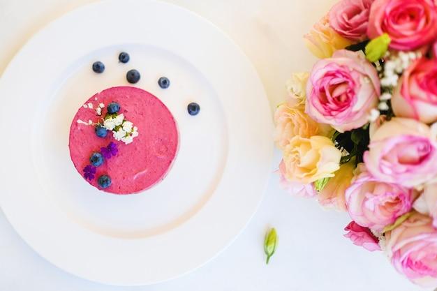 Ricetta per dessert da ristorante romantico