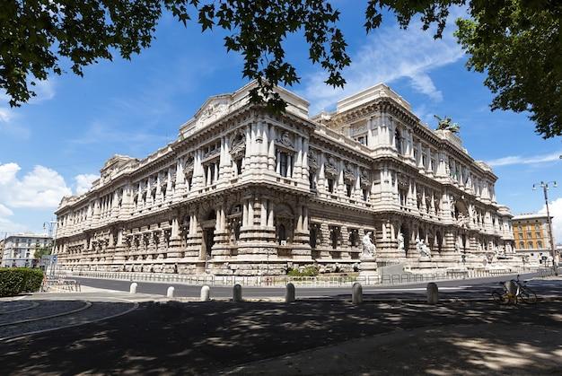 Roma, italia. palazzo di giustizia palazzo di giustizia