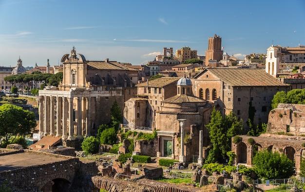 Romos forumas visto dal colle palatino