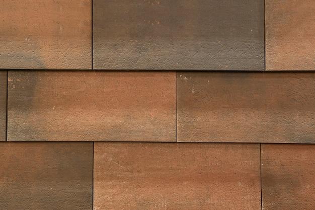 Primo piano del materiale di finitura del tetto