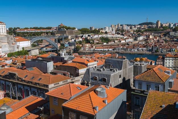 Tetti della città di porto in portogallo
