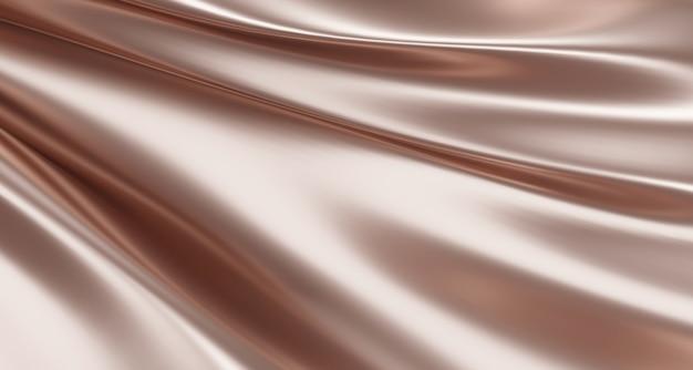 Sfondo di tessuto di lusso in oro rosa