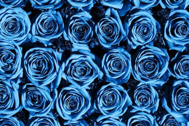 Bouquet di rose, vista dall'alto