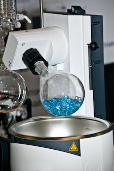 Evaporatore rotante nell'industria chimica, farmaceutica e biotecnologica